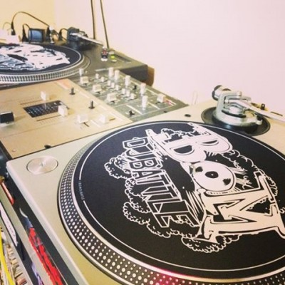 B.O.M. DJ BATTLE x DR. SUZUKI SLIPMATS