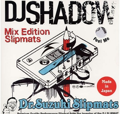 DJ SHADOW x DR. SUZUKI SLIPMATS