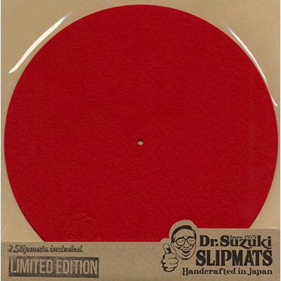 Dr. Suzuki Slipmats Mix Edition [RED]