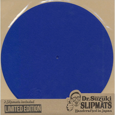 Dr. Suzuki Slipmats Mix Edition [Royal Blue]