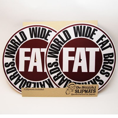 FATBROS x DR. SUZUKI SLIPMATS (WINE)