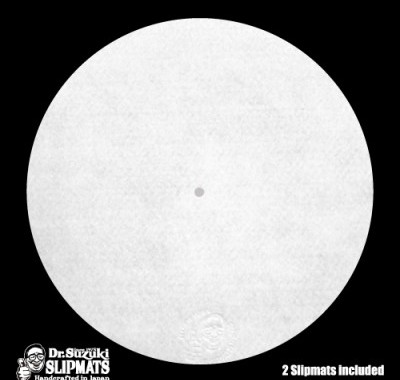 Dr. Suzuki Slipmats Mix Edition [White]