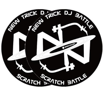 NEW TRICK DJ BATTLE 2015 X DR. SUZUKI SLIPMATS