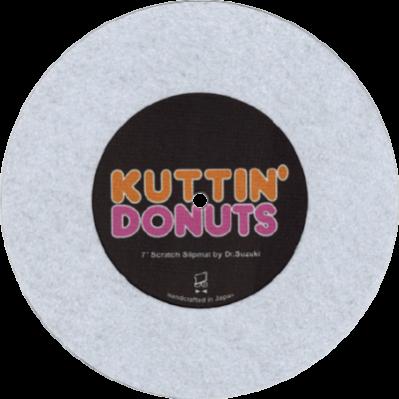 KUTTIN' DONUTS (WHITE)