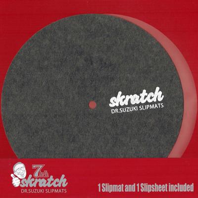 """DR. SUZUKI SLIPMATS – SKRATCH 7"""""""