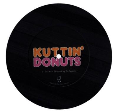 KUTTIN' DONUTS (BLACK)
