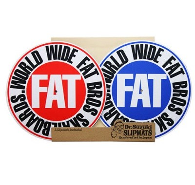 FATBROS x DR. SUZUKI SLIPMATS (RED / BLUE)